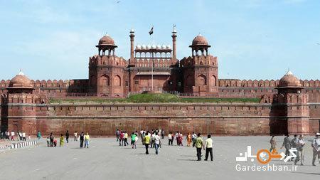 امارت تاریخی قلعه سرخ یا لال قلعه در هندوستان
