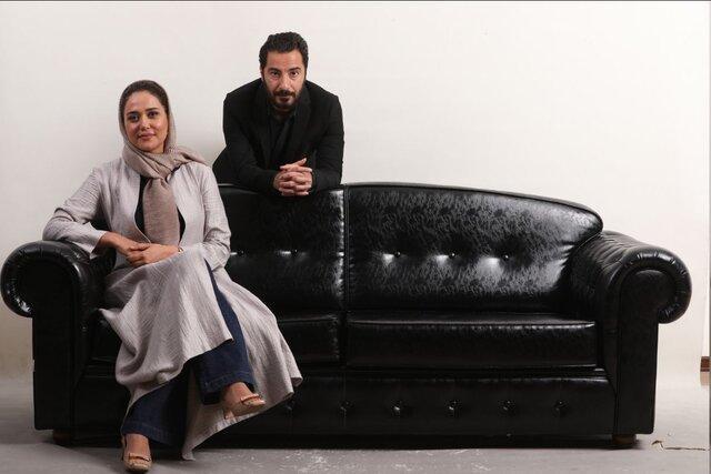 نوید محمدزاده و پریناز ایزدیار در تفریق
