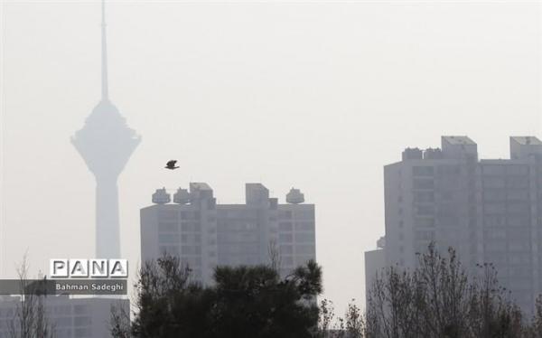 شرایط قرمز هوای تهران در 11 منطقه